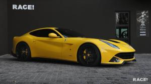 2016 Ferrari F12berlinetta Yellow by Novitec Rosso and RACE!
