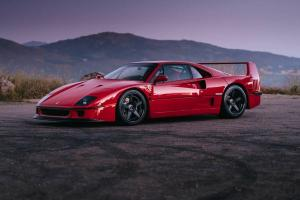 Ferrari F40 on HRE Wheels 2016 года