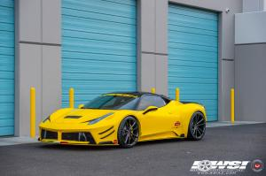 2017 Ferrari 458 Speciale by Prior Design and Creative Bespoke on Vossen Wheels (CG-203)