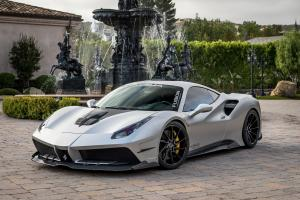 2017 Ferrari 488 GTB Regular Body Kit in Grey by Misha Designs