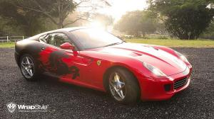 2017 Ferrari 599 GTB by WrapStyle