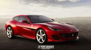 Ferrari Portofino ShootingBrake by X-Tomi Design 2017 года