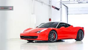 Ferrari 458 Italia by Concept Motorsport on HRE Wheels (P104) 2018 года