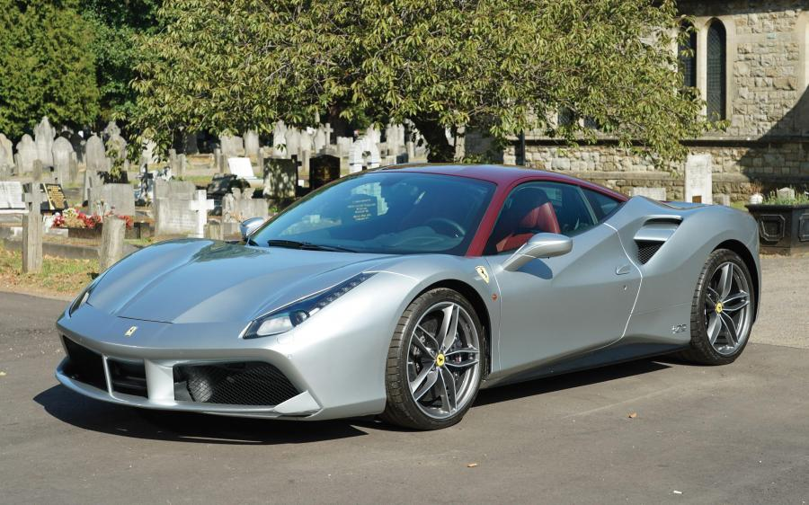 2018 Ferrari 488 GTB The Shah