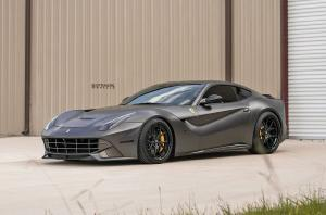 Ferrari F12berlinetta on Strasse Wheels (SM5R Deep Concave FS) 2018 года