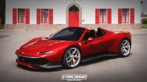 2018 Ferrari SP38 Spider by X-Tomi Design