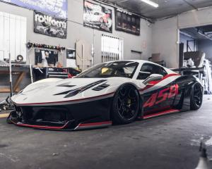 2019 Ferrari 458 Spider by Impressive Wrap