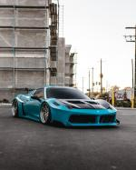 Ferrari 458 Spider by Liberty Walk & Impressive Wrap 2019 года