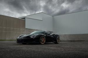 2019 Ferrari 488 GTB by Titan Motorworks on ADV.1 Wheels (ADV05 M.V2 CS)