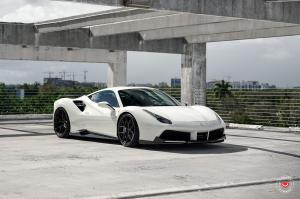 2019 Ferrari 488 GTB on Vossen Wheels (S21-01)