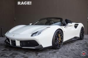 Ferrari 488 Spider by RACE! on Vossen Wheels (S17-01) 2019 года