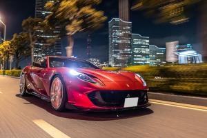 Ferrari 812 Superfast on ADV.1 Wheels (ADV10.0 TRACK SPEC ADVANCED) 2019 года