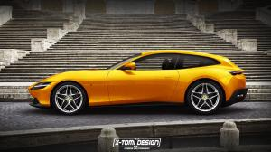 2019 Ferrari Roma ShootingBrake by X-Tomi Design