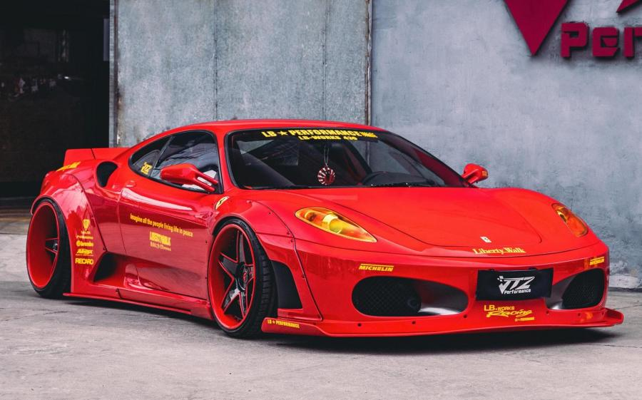 Ferrari F430 by Liberty Walk '2020