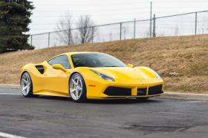 2020 Ferrari 488 GTB by Pfaff Tuning on ADV.1 Wheels (ADV5 TRACK SPEC ADVANCED)