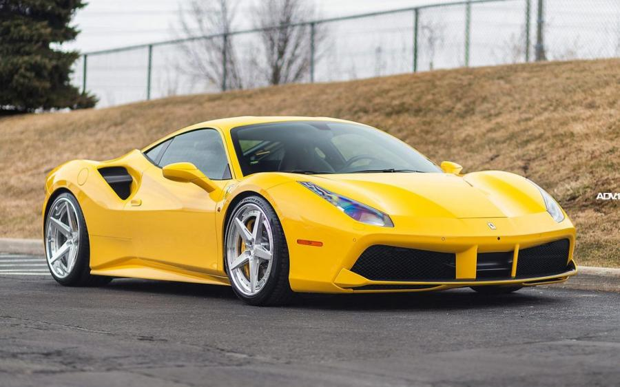 Ferrari 488 GTB by Pfaff Tuning on ADV.1 Wheels (ADV5 TRACK SPEC ADVANCED) '2020