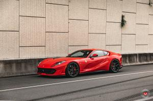 Ferrari 812 Superfast by Novitec Rosso on Vossen Wheels (EVO-4) 2020 года