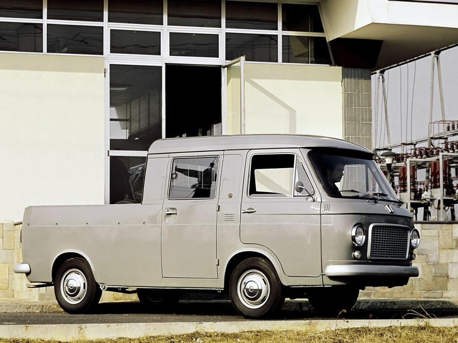 1968 Fiat 238 Double Cab Pickup