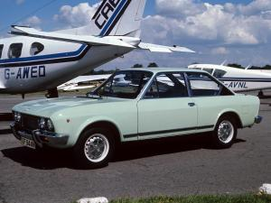 Fiat 124 Sport Coupe 1972 года (UK)