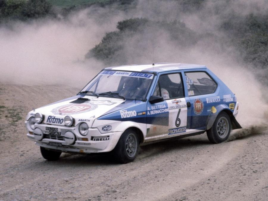 Fiat Ritmo Abarth Group 2