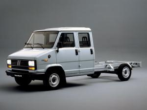 Fiat Ducato Dual Cabine Chassis 1981 года