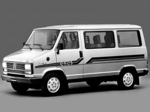 Fiat Ducato Supercombi 4x4 1981 года