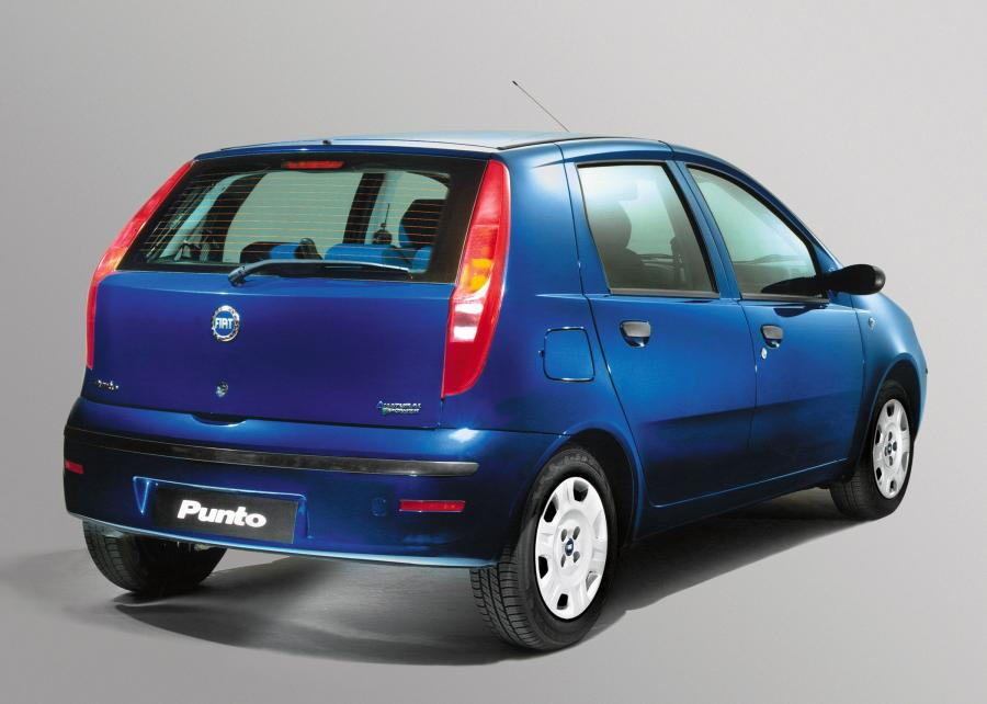 2003 Fiat Punto Natural Power 5-Door