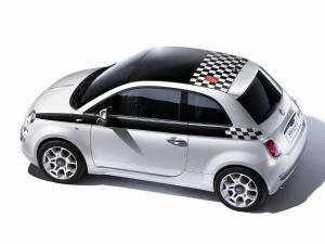 Fiat 500 F1 Limited Edition 2008 года