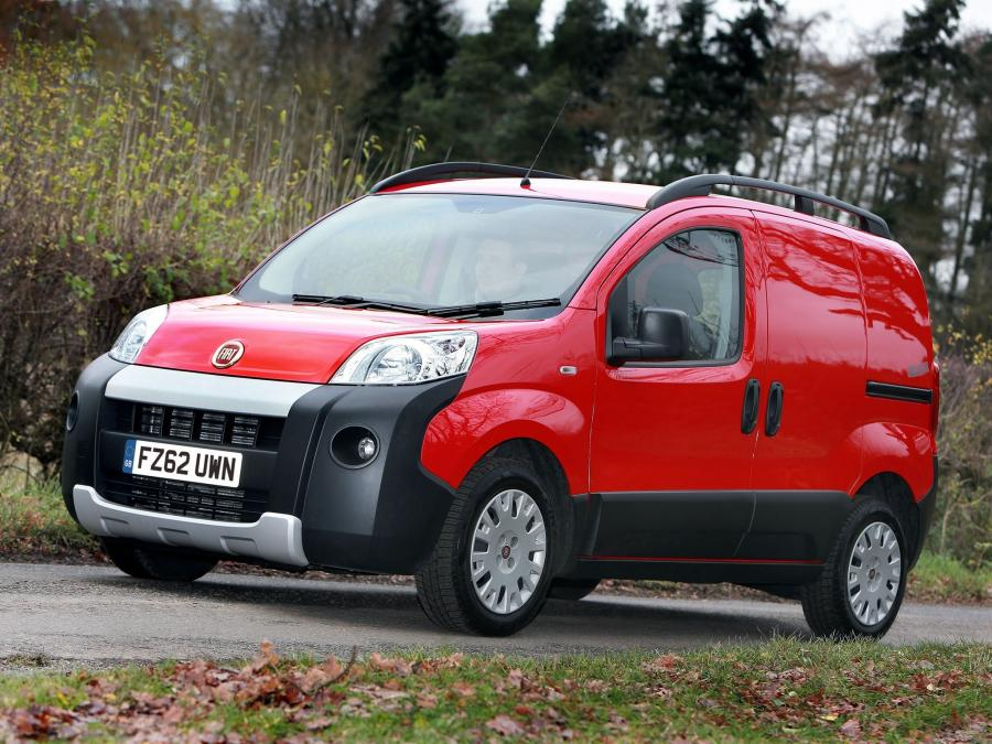 Fiat Fiorino Adventure (UK) '2008