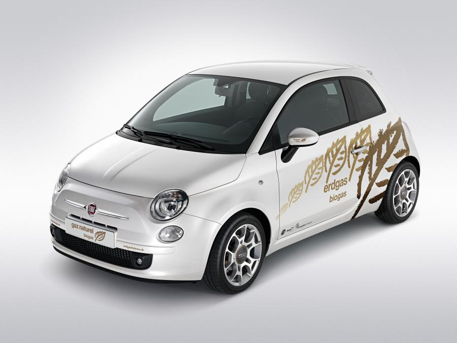Fiat 500 Natural Power Prototype
