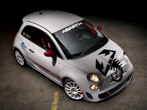 Fiat 500 Abarth Racing 2012 года