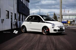 Fiat 500 Prima Edizione Project Denso by SR Auto Group 2012 года