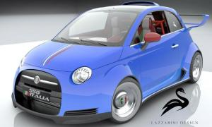 Fiat 550 Italia by Lazzarini Design 2012 года