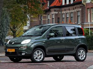 Fiat Panda Trekking Natural Power 2012 года