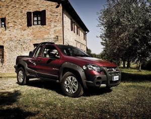 Fiat Strada Adventure Long Cab by Lumberjack 2012 года