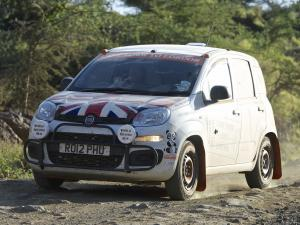 2013 Fiat Panda Cape Town to London