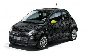 Fiat 500 Camouflage Showcar 2014 года