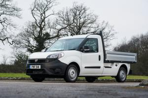 Fiat Doblo Work Up 2015 года (UK)