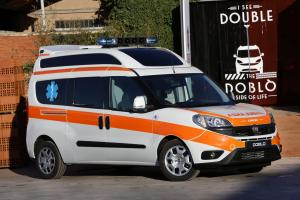 2015 Fiat Doblo XL Ambulanza by Orion