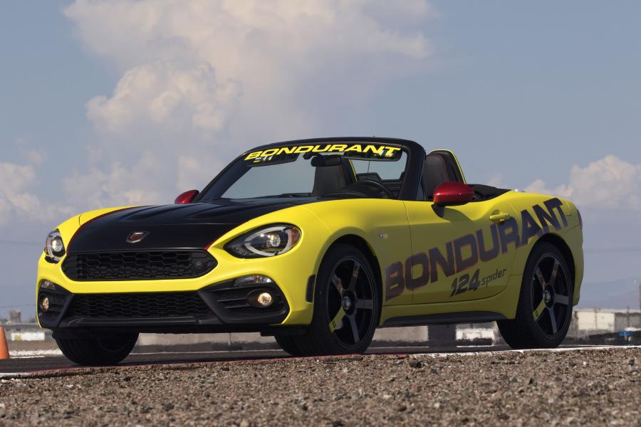 Fiat 124 Spider Abarth for Bob Bondurant School of High Performance Driving