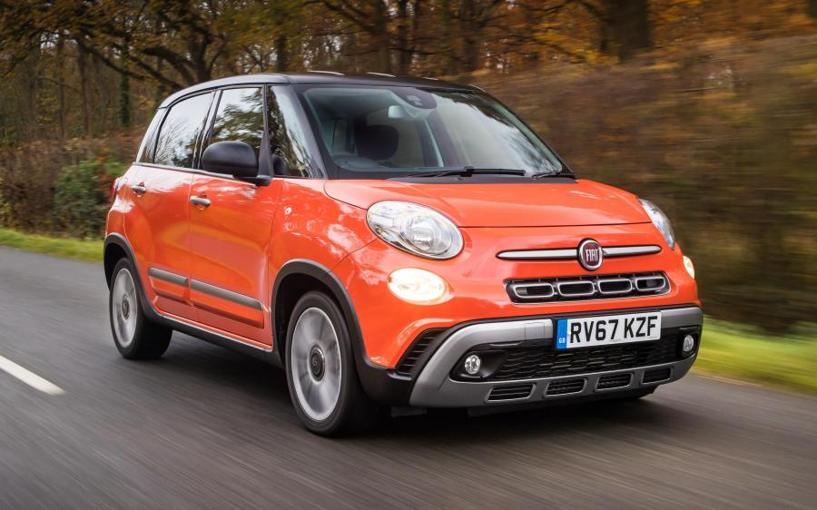 Fiat 500L Cross (330) (UK) '2017