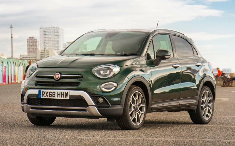 2018 Fiat 500X Cross (UK)