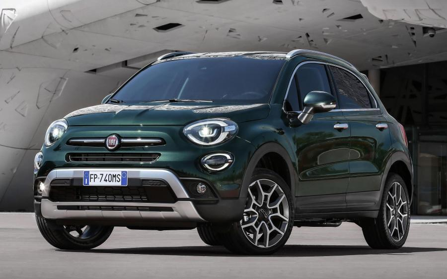 2018 Fiat 500X Cross (WW)