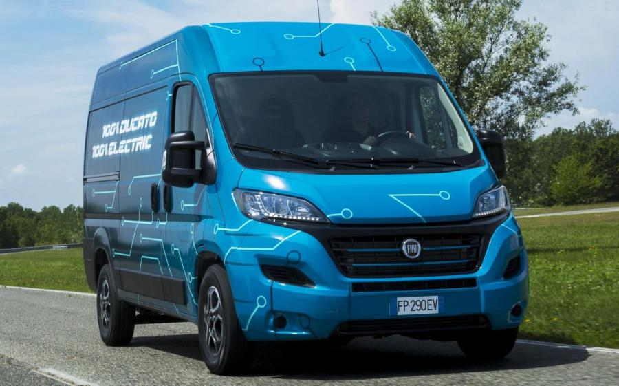 2019 Fiat Ducato Electric Prototype