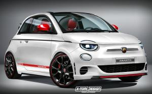Fiat 500 Abarth by X-Tomi Design 2020 года