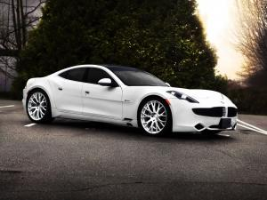 Fisker Karma ES White Knight by SR Auto Group