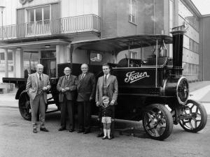 Foden Steam Wagon 1916 года