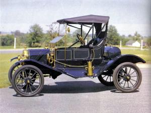 Ford Model T Torpedo Runabout 1910 года