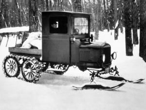 1913 Ford Model T Snowmobile