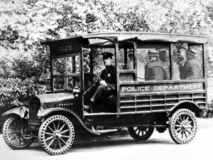 Ford Model T Police Truck 1919 года